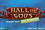 Игровой автомат Hall of Gods выплачивает два огромных джекпота