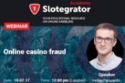 Slotegrator проводит вебинар по мошенничеству в онлайн гэмблинге